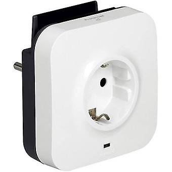 Legrand 694671 Surge protection in-line connector + USB White, Black