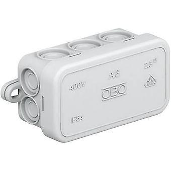 OBO Bettermann 2000001 Junction box (L x W x H) 80 x 43 x 34 mm Grey-white (RAL 7035) IP55 1 pc(s)