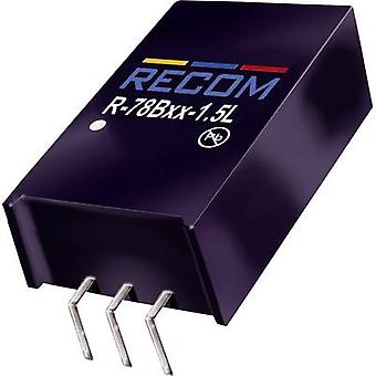 RECOM R-78B5.0-1.5L DC/DC converter (print) 5 V DC 1.5 A 7.5 W No. of outputs: 1 x