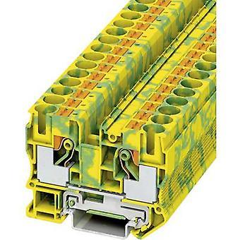Phoenix Yhteystiedot PT 10-PE 3212131 Tripleport PG terminaali Nastojen lukumäärä: 2 0,5 mm² 10 mm² Vihreä, Keltainen 1 kpl