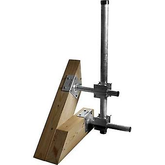 A.S. SAT 51020 Masthalterung Geeignet für Mast (max.): 60 mm