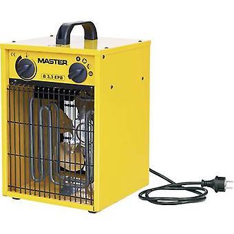 Master Klimatechnik B-3IT kachel 1650 W, 3300 W geel, zwart