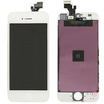 Generic Replacement LCD Screen Digitizer Assembly for iPhone 5 (White)