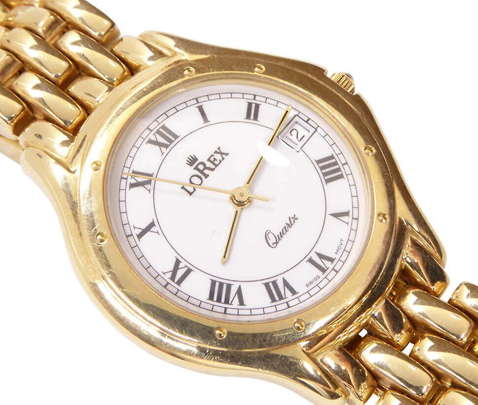 LoRex yellow gold watch
