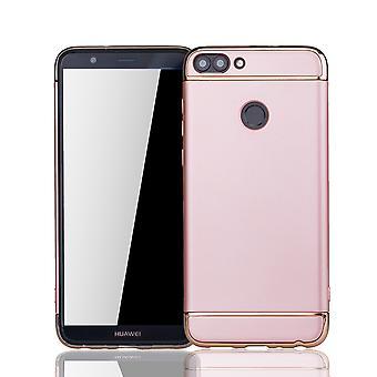 Huawei honor 7 s mobile couverture pare-chocs couverture rigide case rose