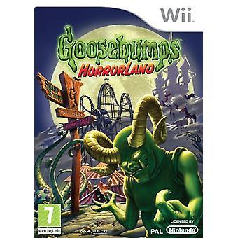 GoosebumpsHorrorland (Wii)-fabriken förseglad