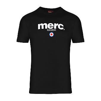 Merc Brighton t-paita miesten 100 % puuvillaa, yrityksen logo tulosta