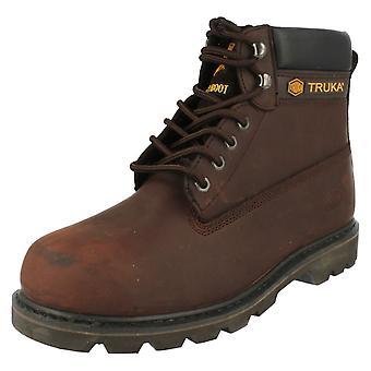 Unisex Truka Steel Toe Cap Boots WL02