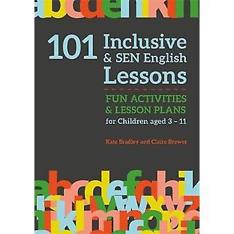 101 inclusive et SEN anglais leçons - activités amusantes et Plan de leçon