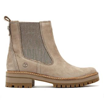 Timberland kvinners Taupe Courmayeur Valley Chelsea Boots