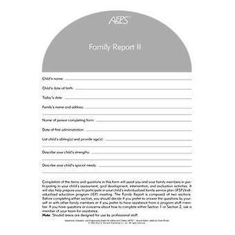 Rapport - II - trois à Six ans de la famille de la SPEA (2e) par Betty Capt - Joan