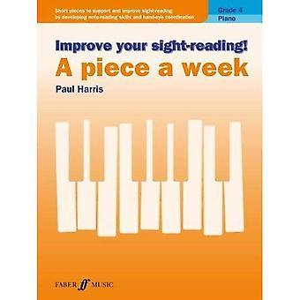 Förbättra din Sight-läsning! En bit en vecka Piano grad 4