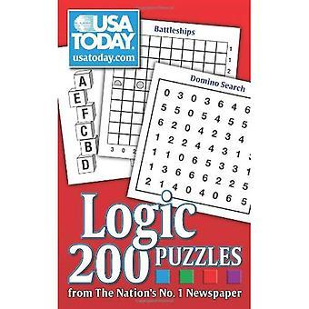 Etats-Unis aujourd'hui des Puzzles de logique: de 200 Puzzles du journal n ° 1 de la Nation