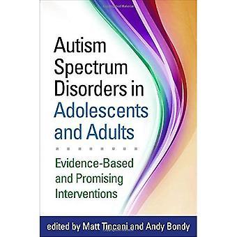 Autismus-Spektrum-Störungen bei Jugendlichen und Erwachsenen: evidenzbasierte und vielversprechende Interventionen
