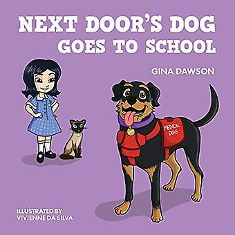 Chien de prochaine porte va à l'école