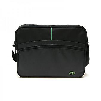 Genuine Branded Fiat 500 Car Bag Black Tablet Messenger Bag Briefcase Strap Case