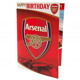Arsenal Musical Birthday Card
