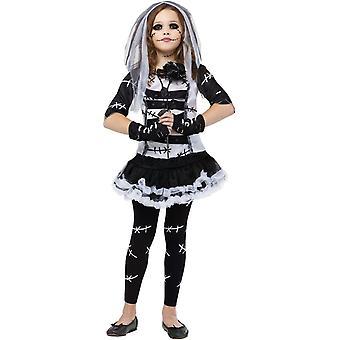 Costume de mariée Zombie filles
