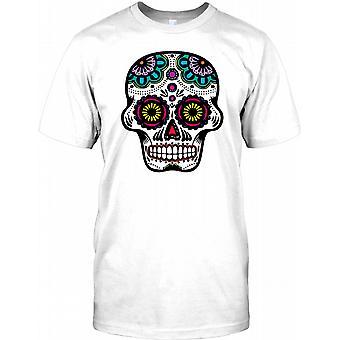 Mexicanske sukker kraniet - alt ser øjne Herre T-shirt