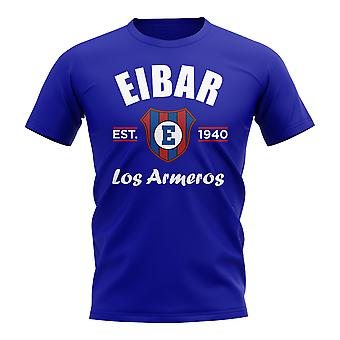 Eibar stabilito calcio t-shirt (Royal)