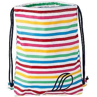 Didriksons Kids Galon Waterproof PE Sports Bag | Rainbow Stripe