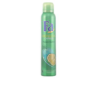 FA Limones Del Caribe Deo Spray 200 Ml For mænd