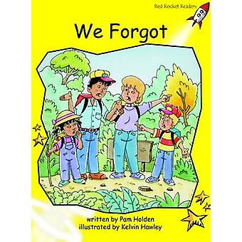 We Forgot - Early - Level 2 (International edition) by Pam Holden - 978