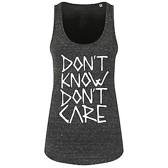 Grindstore damer/dame dont know dont Care floaty tank