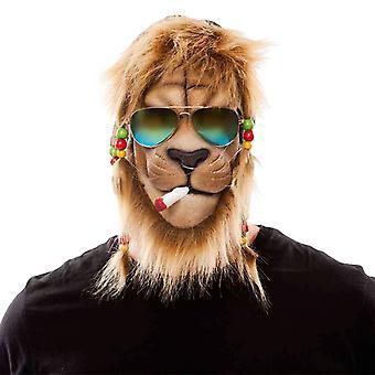 Lion Raggae maska Pánske kostým