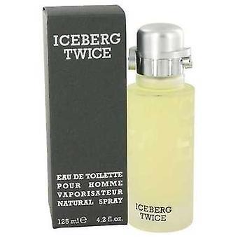 Iceberg Twice By Iceberg Eau De Toilette Spray 4.2 Oz (hommes) V728-414095