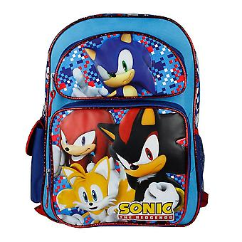 Backpack - Sonic the Hedghog - Blue Group Team New 136417