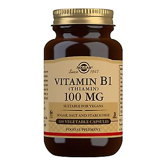 Solgar Vitamin B1 100mg Capsules 100 (2950)