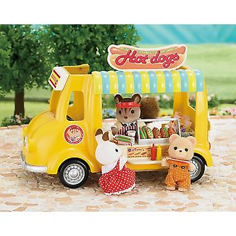 Sylvanian Familie Hot Dog Van Set