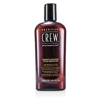 American Crew menn strøm rengjøringsmiddel stil Remover daglig sjampo (For alle typer hår) 250ml / 8.4 oz