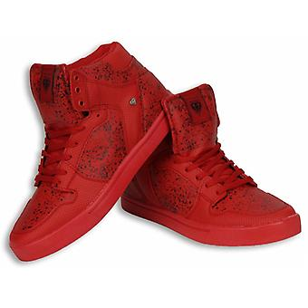 Shoes - Sneaker High - Touch Red Black