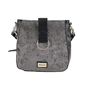 For Time Bandolera pata de gallo - Multicolored Women's shoulder bags (nico) 10x26x27 cm (W x H L)