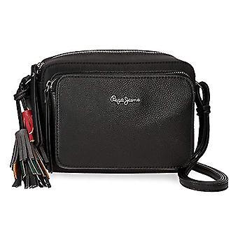 Pepe Jeans Ann Crossneck sac 22 cm Noir (Noir) - 7725361