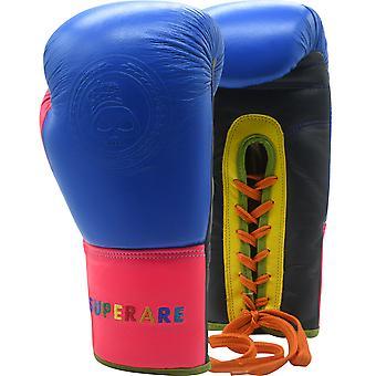 سوبرار العصير الدانتيل يصل التدريب قفازات الملاكمة - متعدد الألوان