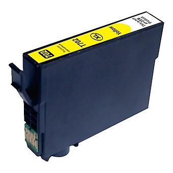 Kompatible Inkjet Cartridge Yellow Ersatz für 702XL