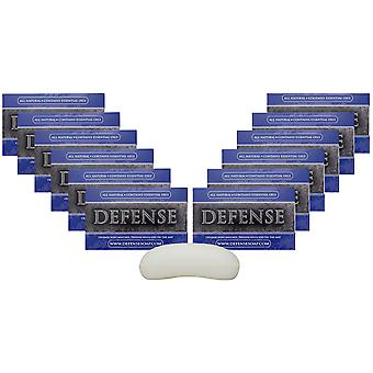 Defense Soap 4 oz. Antimicrobial Therapeutic Body Bar Soap - 12 Pack - Original