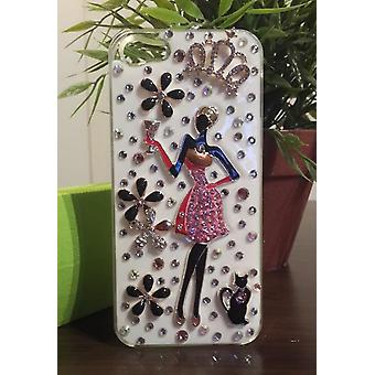 Apple Iphone 4 4S Case 3D Cover (Diva)