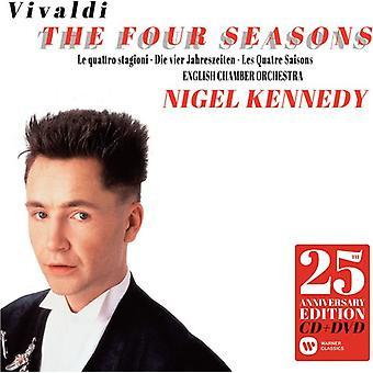 Vivaldi/Nigel Kennedy - Four Seasons 25th Anniversary [CD] USA import