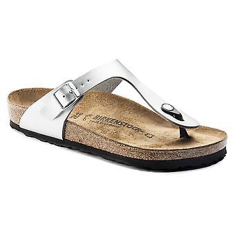 Birkenstock Gizeh BF Sandal 43853 sølv smal
