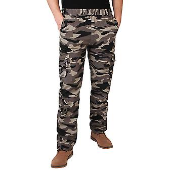 KRISP Mens Combat Military Army Camouflage Cargo Hose Hose Casual Work Fashion
