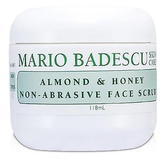 Almond & Honey Non-abrasive Face Scrub - For All Skin Types - 118ml/4oz