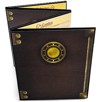 The Master's Tome Customizable DM Screen, Black