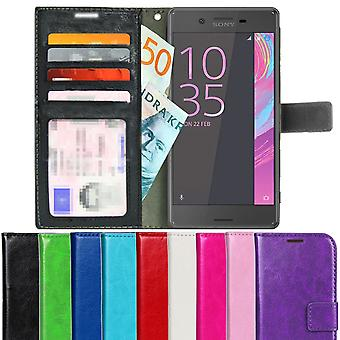 TOP Wallet Case Sony Xperia X