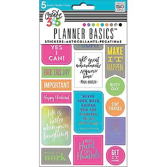 Happy Planner Stickers 5/Sheets -Rock This Day, Neon