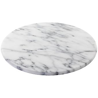 Judge Marble, White 30cm / 12inch Lazy Susan