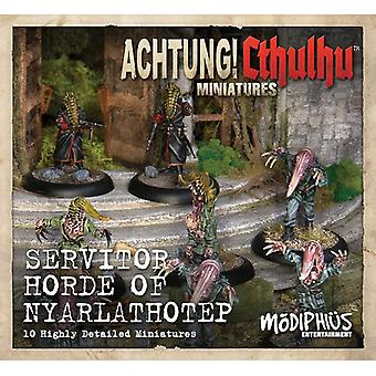 Achtung! Cthulhu Skirmish Miniatures - Servitor Horde of Nyarlathotep